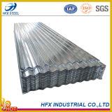 Corrugated плитки толя Zincalume стальные с Az 100g