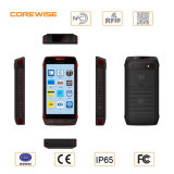 5 pouces Rugged 1.2GHz Android Handheld PDA avec UHF RFID Barcode