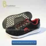 Guter Preis-Mann-Sport-Schuh mit normalem Ineinander greifen-Oberleder (ES191709)