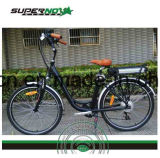 Bicicletta elettrica della batteria di litio di uso delle donne della città