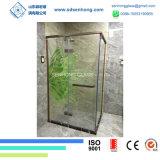 3/8 vidrio Tempered manchado decorativo de la impresión de Digitaces para la puerta de la ducha