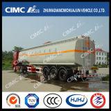Cimc Huajun 40cbm De Brandstof van het Koolstofstaal 2axle/Tanker Oil/Gasoline/Disel