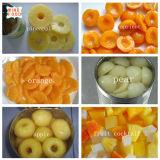Frucht-in Büchsen konservierte Nahrung