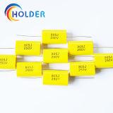 Condensateurs à film polypropylène métallisé (CBB20 805J 250V) avec du fil de cuivre pour l'exécution de tous les Cbb20 série axiale