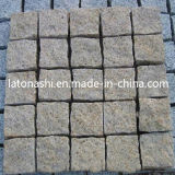 정원을%s 자연적인 G654 Granite Cube Paving Stone, Landscaping, Road