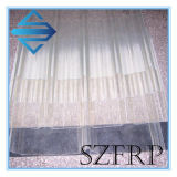 La vetroresina trasparente composita del lucernario FRP della serra riveste lo strato di pannelli