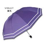 فائقة ضوء ثلاثة يطوي دليل استخدام مظلة مفتوحة خارجيّة