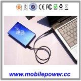 10000mAh chargeur portatif personnalisés pour les smartphones, iPod, Samsung, HTC, Ordinateur de bureau, etc.