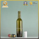 bouteille de vin à bouchon vissable en verre 375ml vert (510)