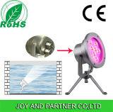 Hohes Light 27W Single Color LED Underwater Spotlight mit IP68, Bridgelux Chip, Edelstahl