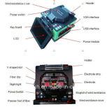 Fast Fiber Connection FTTH Fiber Optic Fusion Splicer avec Cleaver