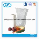 Пластичный мешок упаковки еды на крене