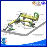 De Machine van de Granulator van de Meststof van de Samenstelling van de roterende Trommel NPK