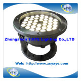 Yaye 18 Hot Sell Warm White 36W LED lâmpada subaquática / branco quente 36W LED Pool Light com IP68 / DC / AC12 / 24V