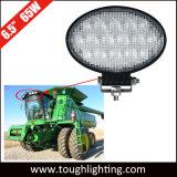 E-marque approuvée ovale de 6,5 pouces 65W L'agriculture voyant feux de lampe de travail du tracteur