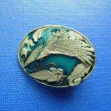 3D il distintivo di Pin del risvolto placcato bronzo della pressofusione (GZHY-BADGE-025)