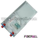 Sc-Simplexfaser-Kanäle der FTTH Bildschirmoberflächen-an der Wand befestigten Kontaktbuchse-zwei