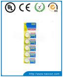 Batterie de cellules de bouton de lithium de Cr2025 3V 140mAh pour la DEL
