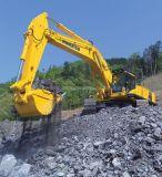 Compartimiento hidráulico del excavador de la correa eslabonada con los dientes para KOMATSU/la oruga/Volvo
