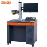 De groene Laser die van de Vezel van het Roestvrij staal de Vervaardiging van de Machine van de Gravure merkt