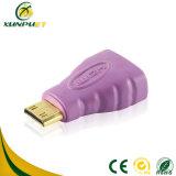 VGA HDMI van gegevens pvc de Mannetje aan Mannetje Adapter van de Macht voor Laptop