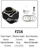 Il kit del cilindro del motociclo Fz16 parte la serie di alta qualità YAMAHA