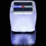 10 LED Inflável Cube Lanterna Solar com Indicador de Energia para Camping Caminhada