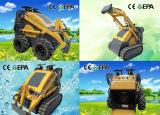 23CE HP Mini Bobcat con horquilla de palés Digger martillo rompedor de sinfín