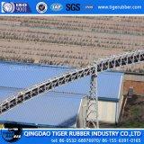 Rubber Riem/de Transportband van de Pijp Voor Cement/Transportband