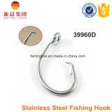 крюк 12/0 серебряной нержавеющей стали размера цвета 39960d удя