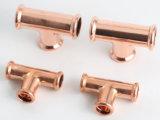 Encaixe de cobre da imprensa do M-Perfil para a água e o gás
