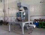 Llenado de pesaje de funcionamiento automático en lata o bandeja de sistema