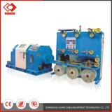 Máquina de torção traseira do cabo de fio da bobina dobro horizontal