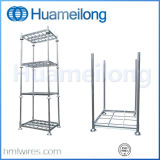 Heavy Duty Galvanized Stacking Steel pallet Racking with Posts