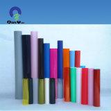 폴리비닐 플라스틱 매트 곡물 공간 과료 서리 PVC 엄밀한 필름