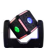 luz principal móvil de la pequeña bola del cubo de 6*12W LED/luz principal móvil de la etapa de la luz/de la boda de la viga