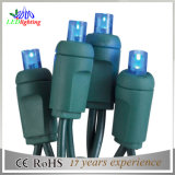 10m100L indicatori luminosi esterni alimentati variopinti della stringa di bassa tensione LED