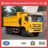 10車輪中国40販売のためのトンの三リングのSitom 6X4鉱山のダンプのダンプカートラック
