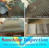 Controllo degli accessori & della pavimentazione nel servizio di controllo di Pre-Shipment delle mattonelle moquette/della Cina