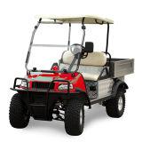 Тележка фермы моторного транспорта 4 колес электрическая (DEL2023DUB, 2-Seater)