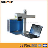 기계 또는 소형 Laser 마커를 인쇄하는 스테인리스 또는 Laser 색깔을%s 탁상용 섬유 Laser 표하기