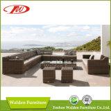 Conjunto de Sofá Rattan para Jardim (DH-1035)