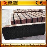 Almofada refrigerar evaporativo de Jinlong para a horticultura da estufa