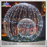 عطلة [لد] زخارف ضوء خارجيّ مسيكة عيد ميلاد المسيح كرة