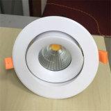 Newest encastrés de 10W 12W COB dirigée vers le bas la lumière