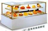 vitrine de présentation de gâteau d'angle à angle droit (à l'-1500/1800/2000)