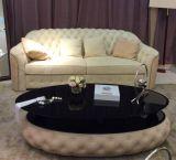 最上質の卸し売り革ソファーの家具