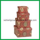 De kleurrijke Doos van de Gift (grootte vier)/Verpakkende Doos voor PromotieGift