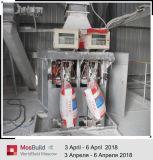 La solución de línea de producción de polvo de yeso horno giratorio gire la llave de proyecto