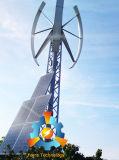 vertikaler Wind-Turbine-Generator der Mittellinien-3kw